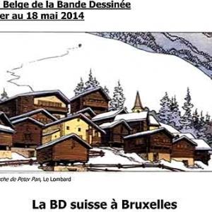 CBBC. La BD suisse a Bruxelles