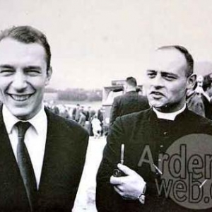 inauguration en 1962 . Bernard Magos et Jean Stas