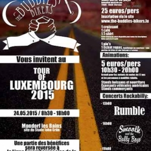 The Buddies Bikers-Tour of Luxembourg 2015