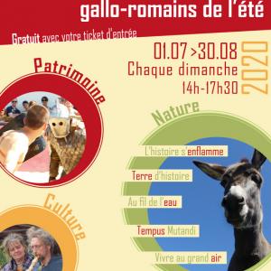 10 Rendez-vous gallo-romains de l'été !