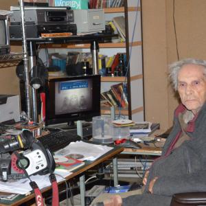 Marcel Thonnon dans son studio le 1er octobre 2020