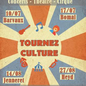 Centre Culturel de Durbuy : « Tournez Culture ! »
