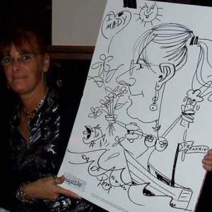 Caricature au Frenchie Restaurant de Luxembourg-7049