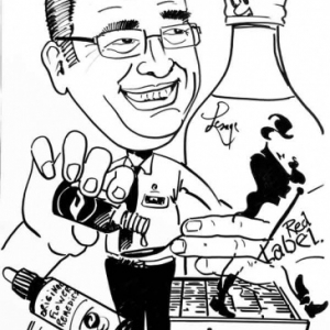caricature police