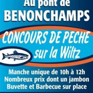 9 avril Benonchamps concours de peche