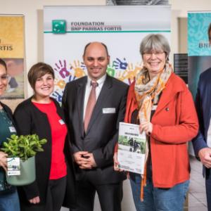 Asbl Les Trois Portes Awards de BNP Paribas Fortis Foundation
