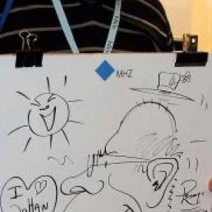 Intirio Gent MHZ caricature-7972