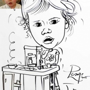 Animation caricature enfant