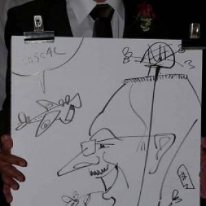Caricature mariage LEMAITRE-TOUSSAINT