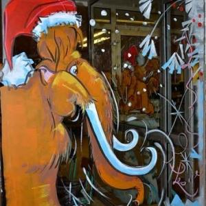 vitrine de NOEL de Jean-Marie Lesage -2332