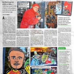 Avenir de Namur article de Aurelie MOREAU- 23 12 2014