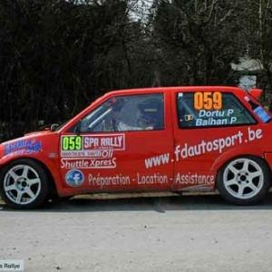 Patrick DORTU et Pierre BALHAN au Spa Rally