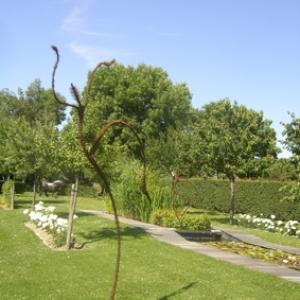Brigitte DANSE au Jardin Lemonnier