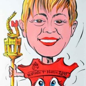 caricature de Nathalie Demelenne