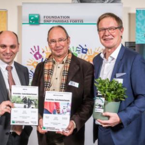 Asbl Les Jacinthes .   Awards de BNP Paribas Fortis Foundation