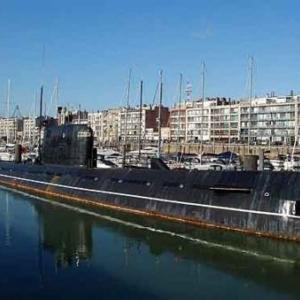 Zeebrugge sous marin russe