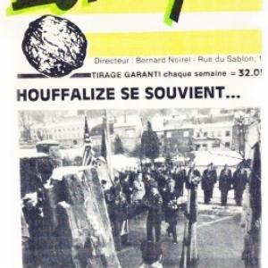 reportage page 1 de FEVRIER 1985 de la Gazette de Bastogne