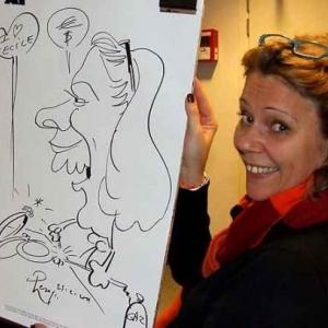 ING - caricature 8170