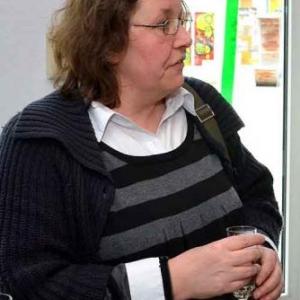 Sophie Gilles, la professeur d'informatique pour seniors, de Gouvy.
