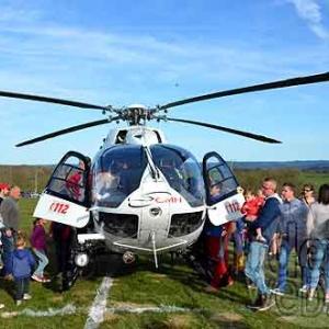 FETE HELICOPTERE MEDICALISE de Bra sur Lienne