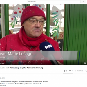 Jean-Marie Lesage- reportage BRF TV-Youtube