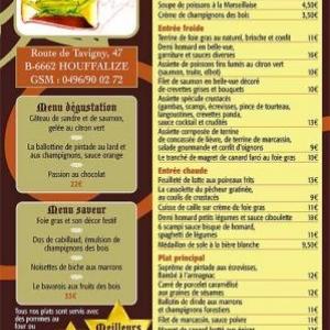 menu a emporter pour vos reveillons