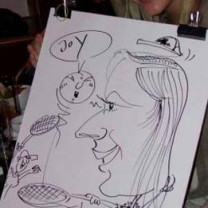 Caricature au Frenchie Restaurant de Luxembourg-7026