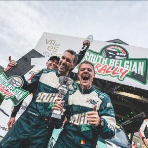 Ghislain de Mévius premier vainqueur du South Belgian Rally !