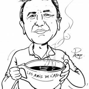 caricature minute en NB