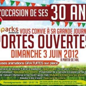 30 ans Sunparks Ardenne