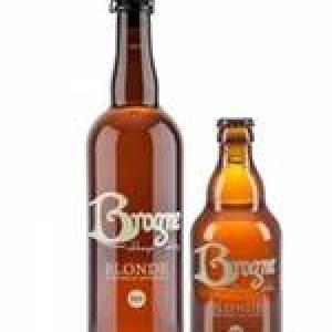 Brogne blonde bio Brasserie de l'Abbaye de Brogne