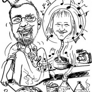 Alain, caricature Maroc - Maroc-9142