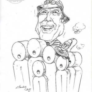 caricature de William LIVERMORE par Olivier Claudon