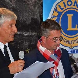 Alain Collin et Christophe Gilon, les deux parrains