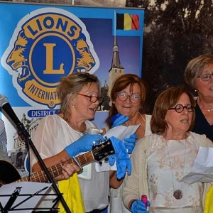 Chant sur un fait vécu en Italie par Daniel Lesage, le président sortant