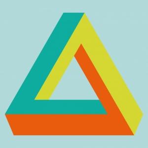 Illusions - Triangle de Penrose © Cité Miroir