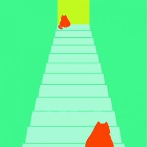 Illusions - Escalier qui monte ou descend © Cité Miroir