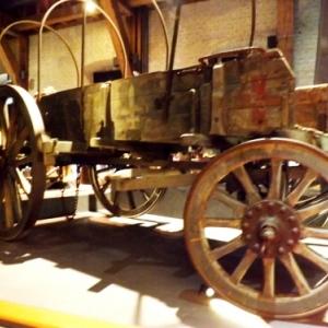 Lourd chariot pour le transport du materiel