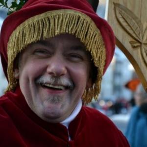 """Patrick Allard dans son role du """" Trouv le"""" ( photo : R. Krings)"""