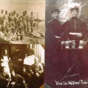 Soldats malmediens enroles dans l'armee allemande
