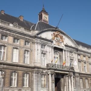 Liege : le Palais des Princes - Eveques ( facade Place St Lambert )