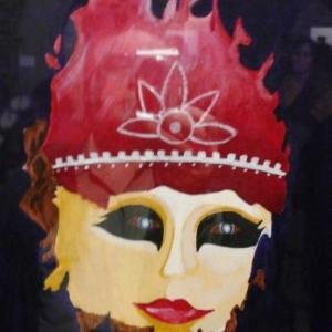 Acrylique sur toile de Myriam Arnold