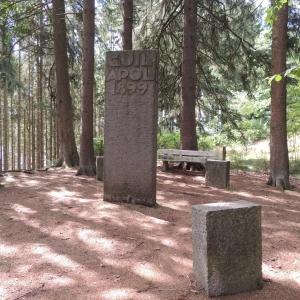"""A découvrir au fil des différents parcours  """" Le monument Apolinaire"""""""