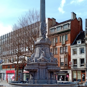 10. La fontaine David