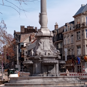 10. La fontaine David  ( photo F. Detry )