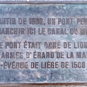 11. Le canal des Usines  ( photo F. Detry )