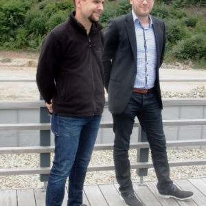 Les organisateurs : Lucas Leonard ( Intermills ) et Patrick Warny ( PLG )