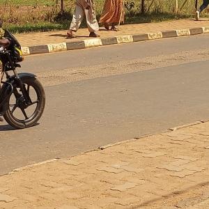 Scène quotidienne à Kigali