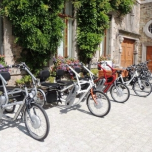E-bikes pour PMR, trikes VTT électriques