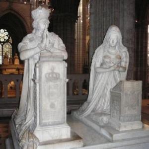Les priants de Louis XVI et Marie-Antoinette